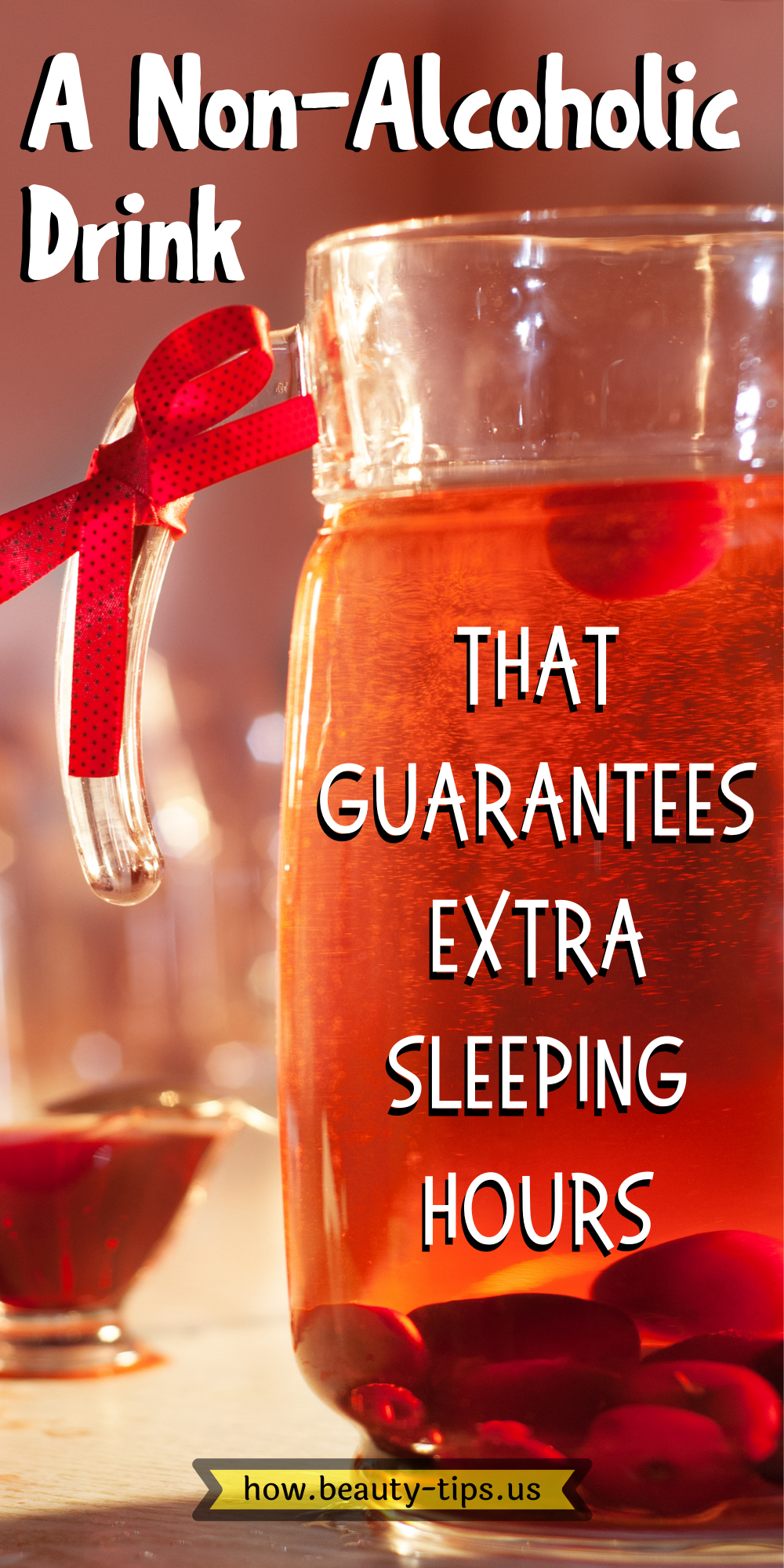 A Non-Alcoholic Drink That Guarantees Extra Sleeping Hours