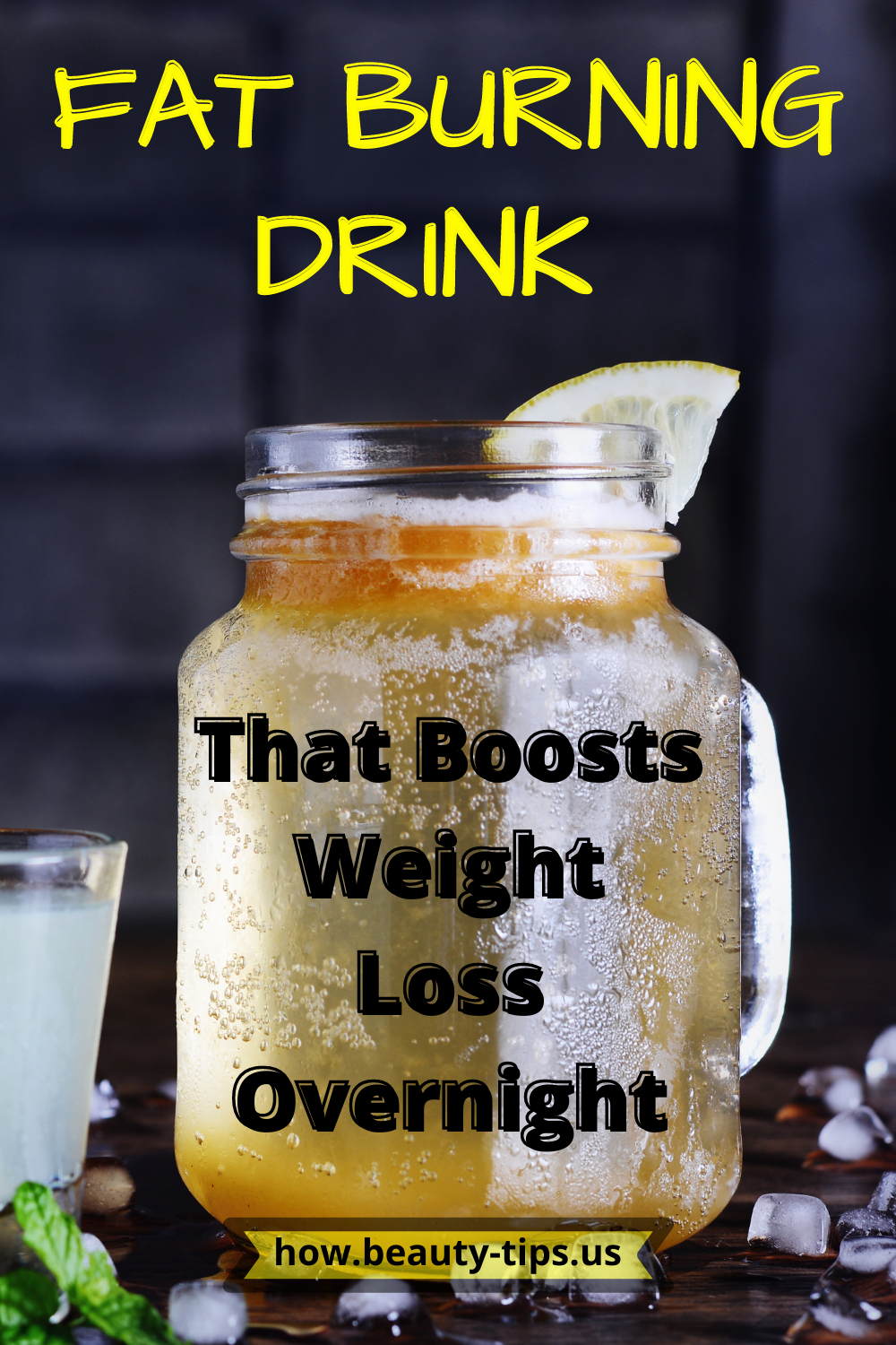 Fat Burning Drink That Boosts Weight Loss Overnight.